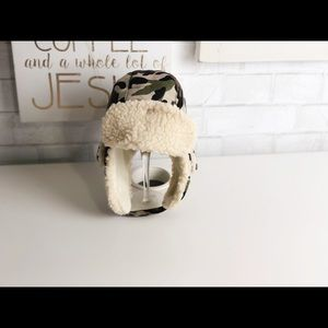 Hobby Lobby Accessories - Boy's Camouflage Fleece Trapper Hat.